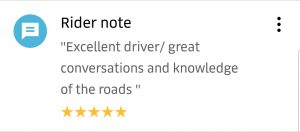 5 Star Uber Driver Ratings Good Driver Compliment7